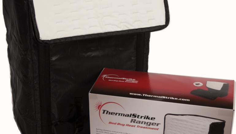Éradiquer les punaises de lit grâce à un bagage thermique Thermal Strike